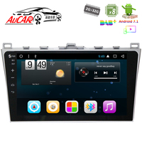 Android 7.1 Car DVD Player for mazda 6 Ruiyi 2008 2012 navigation system 1024*600 Bluetooth GPS Radio WIFI 4G Stereo