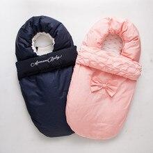 FEWIYONI/зимний конверт для новорожденных; спальный мешок для детской коляски; чехол для ног; теплый спальный мешок; хлопковый спальный мешок; Slaapzak