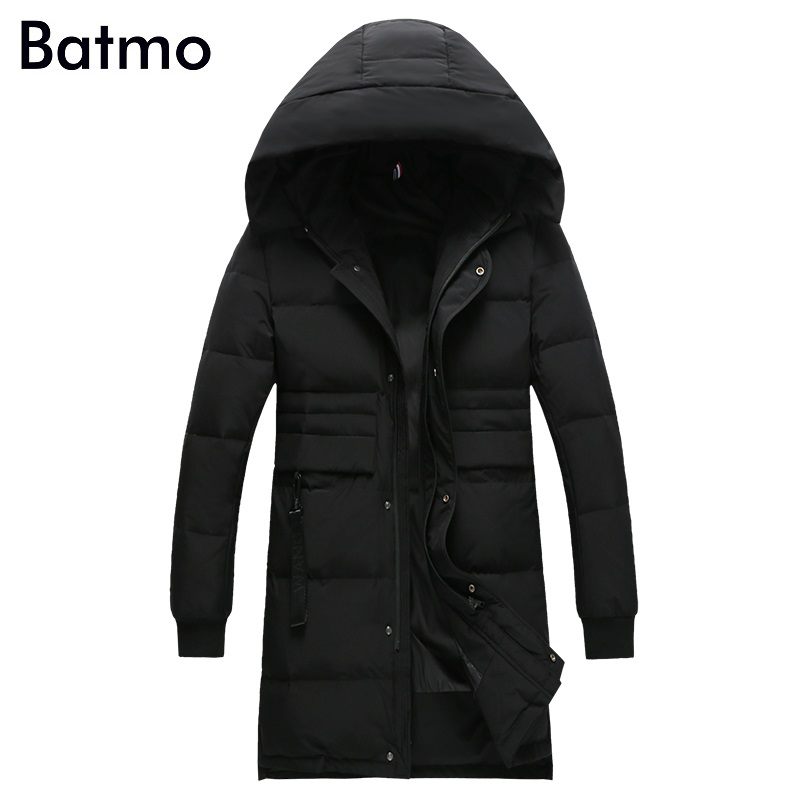 Batmo 2018 new arrival winter high quality 80% white duck   down   jackets men,men's winter warm   coat   ,plus-size M-4XL B36