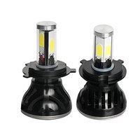 Car Rover 2 X Cree LED Headlight Kit 80W H4 9003 HB2 8000LM 6000K White Light