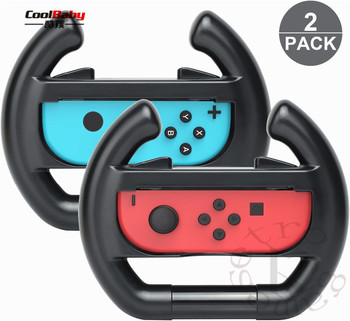 for nintend Switch Joy-Con Small Handle Steering Wheel game component video game controller TNS-852 Enhanced feel 1