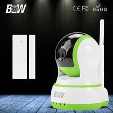 Mini HD CCTV IP Cámara 720 P Wifi Cámara de Seguridad de Vigilancia por Infrarrojos P2P Inalámbrico Bebé Monitor de 3.6mm Endoscopio Sensor de la puerta