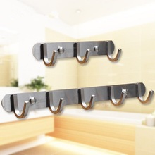 304 stainless steel hook kitchen bathroom clothes Towel Hook wall thickening high load-bearing durable high quality