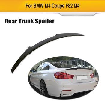 Carbon Fiber Car Rear Trunk Spoiler Wing Lip for BMW F82 M4 2014 - 2019 Car Trunk Lip Spoiler