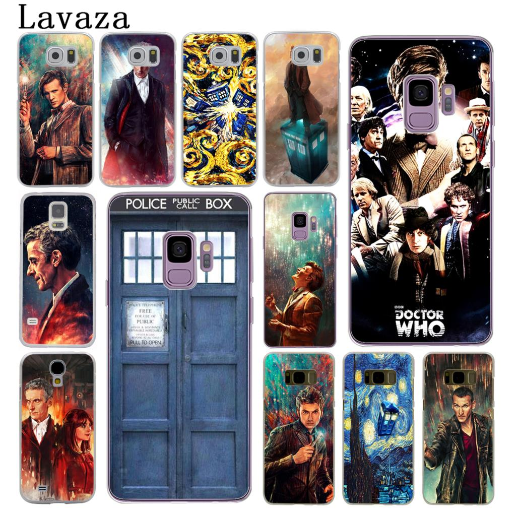 Half-wrapped Case Trend Mark Lavaza Tardis Box Doctor Who Hard Phone Cover Case For Samsung Galaxy S10 E S10e S8 S9 Plus S6 S7 Edge Cases Relieving Heat And Thirst.