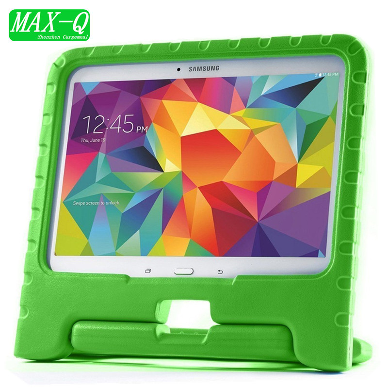 EVA Series Shock Proof Convertible Handle with Kickstand Kids Friendly Protective Cover Case for Samsung Galaxy Tab S 10.5 T800