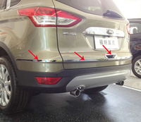 Rear Trunk molding Lid Cover trim Chrome for 2013 2017 FORD Escape / KUGA 5pcs