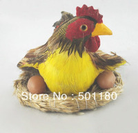 free shipping hen figurine easter hens laying hen