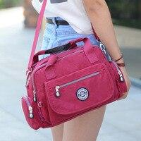 Women Shoulder Bag Casual Waterproof Nylon Bag Shoulder Messenger 2019 Summer Beach Bags Women Bag Bolsos sac a main