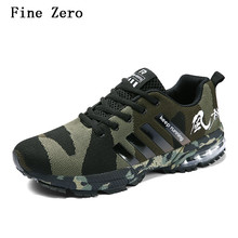 Fine Zero Spring Autumn Men's Sneakers Running Shoes Trending Style Sports Breathable Trainers For Male Big size 36-46
