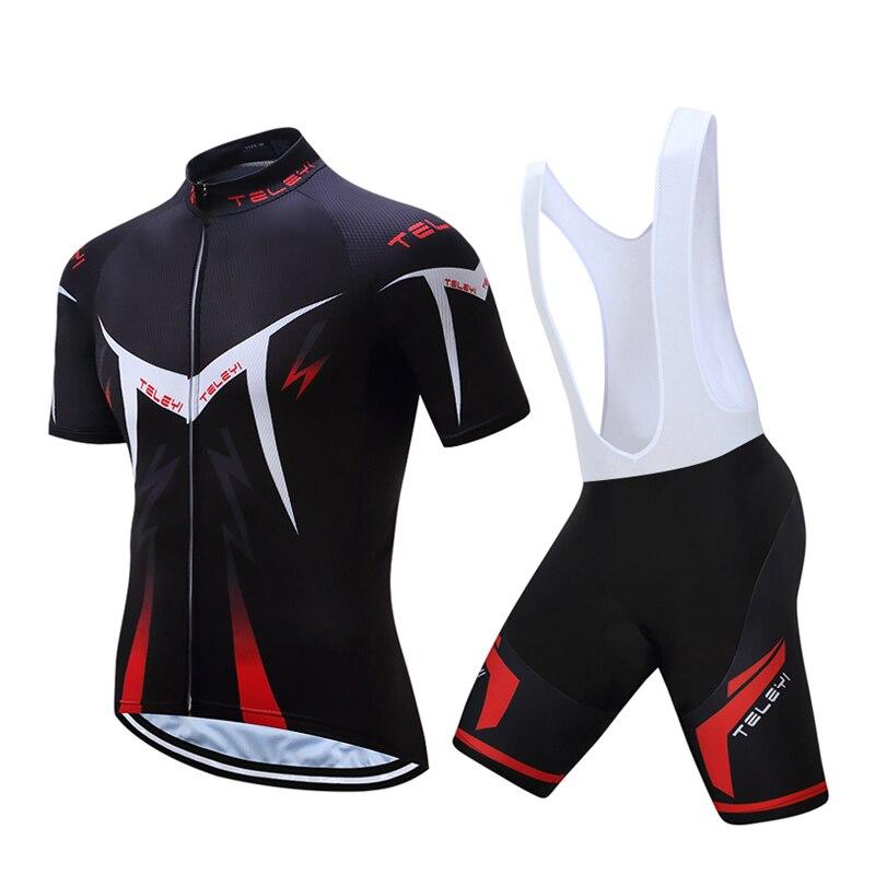 Новый 2018 Pro Cycling набор MTB велосипеда износ Майо Ropa Ciclismo быстросохнущая велосипедные шорты Uniform Велоспорт майки комплект Костюмы