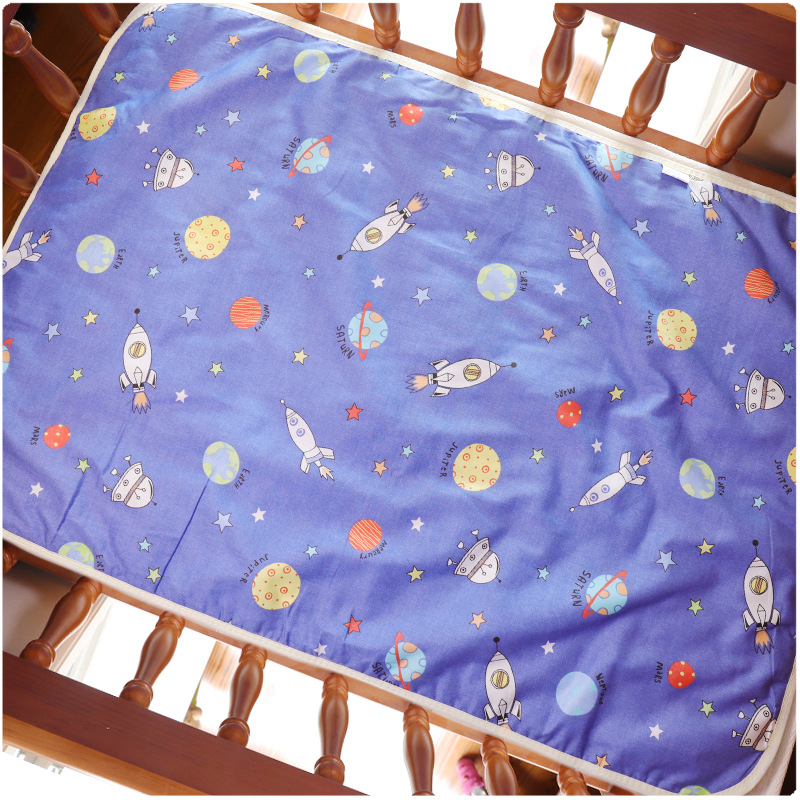 60*90cm New Baby Changing Pads Covers Reusable Baby Diapers Mattress Diapers For Newborns  Cotton Waterproof Sheet Changing Mat