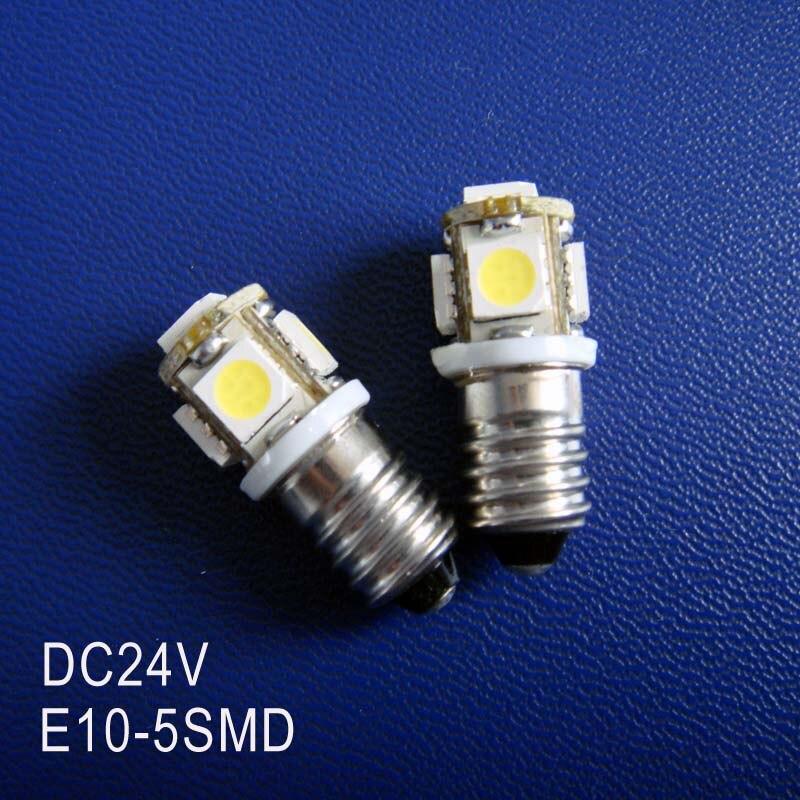 High quality DC24V 1W <font><b>E10</b></font> <font><b>led</b></font> dashboard warning indicator,<font><b>led</b></font> instrument light,<font><b>E10</b></font> 24VDC <font><b>LED</b></font> Lamp Bulb free shipping 50pcs/lot