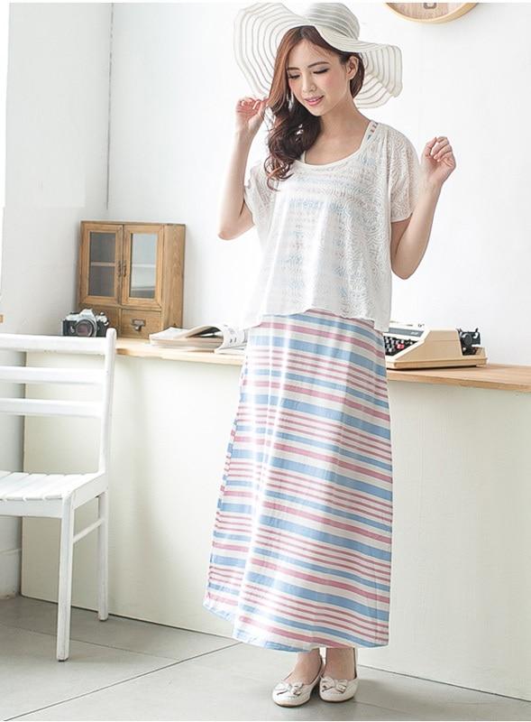 Emotion Moms модная одежда для беременных летнее платье для кормящих для беременных женщин платья для кормящих грудью одежда для кормления - Цвет: 05