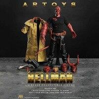 1/6 весы Hellman HellBoy Anung Un Rama мужской человек мальчик 12' действие коллекции фигурок игрушечные лошадки подарки полный набор фигурку W 3 головки