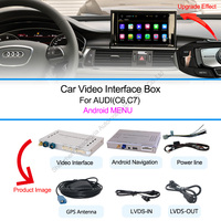 New GPS Navigation Box With Android For 3g Mmi AUDI A1 Q3 A4 A5 Q5 A6