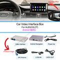 Nova caixa de Navegação GPS com Android para 3g mmi AUDI A1/Q3/A4/A5/Q5/A6/Q7/A8 andriod sistema gps caixa de navegação Wi-fi Embutido