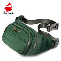 EPOL Fashion Waist Bag Women Waist Fanny Packs Belt Bag Luxury Chest Handbag Black New Casual Phone Pouch Bags Sling Daypack