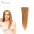 Clip En extensiones de cabello humano 100g afro-americana europea clip en la extensión del pelo clip en la extensión del pelo humano Suave