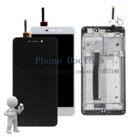5 0 New Touch Screen Digitizer Glass LCD Display Assembly With Frame For Xiaomi Redmi 4A