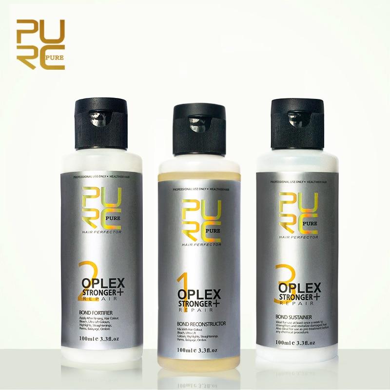 PURC Oplex bond conexiones de reparación de cabello dañado, fortalecer la dureza del cabello y el tratamiento de elasticidad del cabello envío gratis