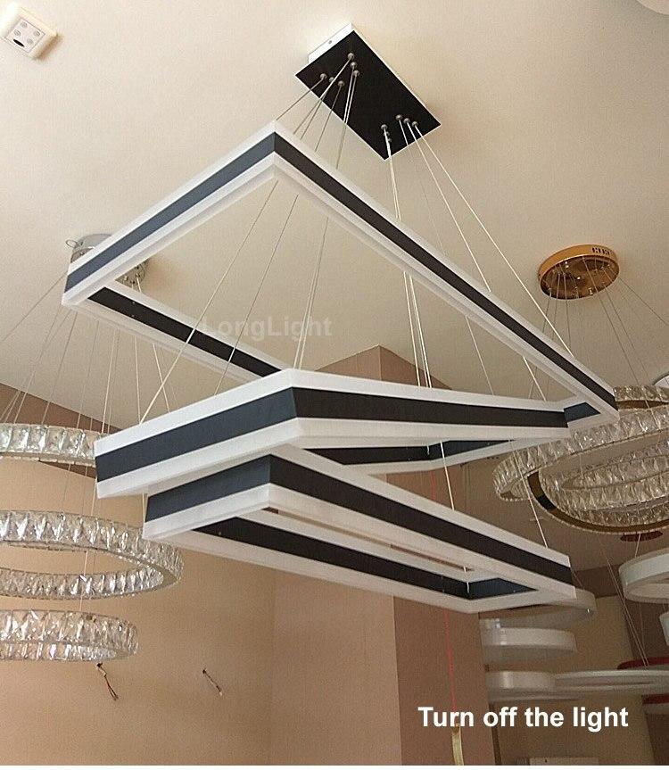Dragonscence Moderne Decke Kronleuchter Led Remote Großen High Power  Kronleuchter Lampe Leuchte Für Wohnzimmer Schlafzimmer Beleuchtung