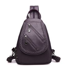 High Quality Leisure Women Backpack PU Leather Chest Shoulder Bags for Teenage Girls Travel School Back Pack Fashion 2019 New mini electric eye massage device pen type electric eye massager dark circle wrinkle removal instrument nutrition introduce pen
