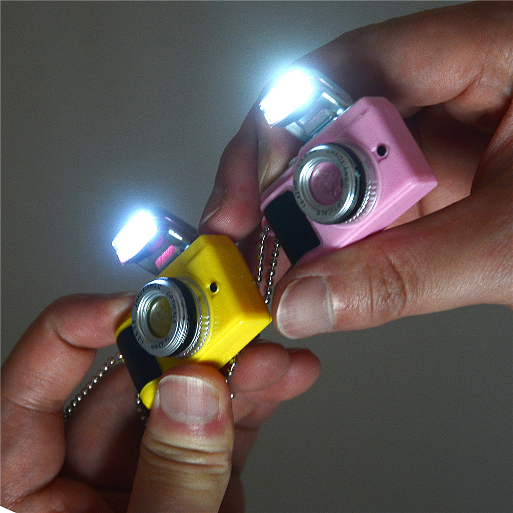 Dolls Plastic LED Camera Miniature Dollhouse Baby Toys American Mini Toy Accessories Suitable For Children