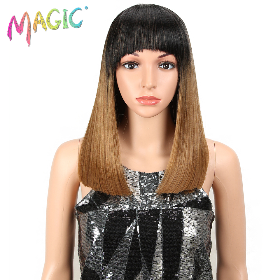 MGAIC Hair Short Wigs High Temperature Synthetic Hair Wig 14