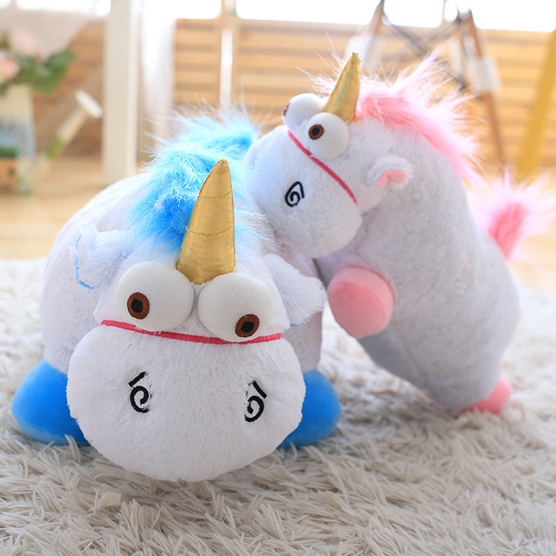 Unicorn doll 40cm 55cm plush toys Unicorn Plush Pillow Toy Doll cute Fluffy Stuffed Animals For Children gift kids baby doll stuffed animal 120 cm cute love rabbit plush toy pink or purple floral love rabbit soft doll gift w2226