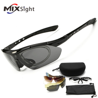 RU 5 Lenses Polarized Safety Welding Glasses Sports Goggles Sunglasses Cycling Driving Protective Antifog Glasses Eyewear