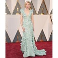 Cate Blanchett Red Carpet Celebrity Dresses Cap Manga Sexy Cuello En V Profundo Floral 88ª Premios de la Academia 2017 Oscars Vestidos de Moda