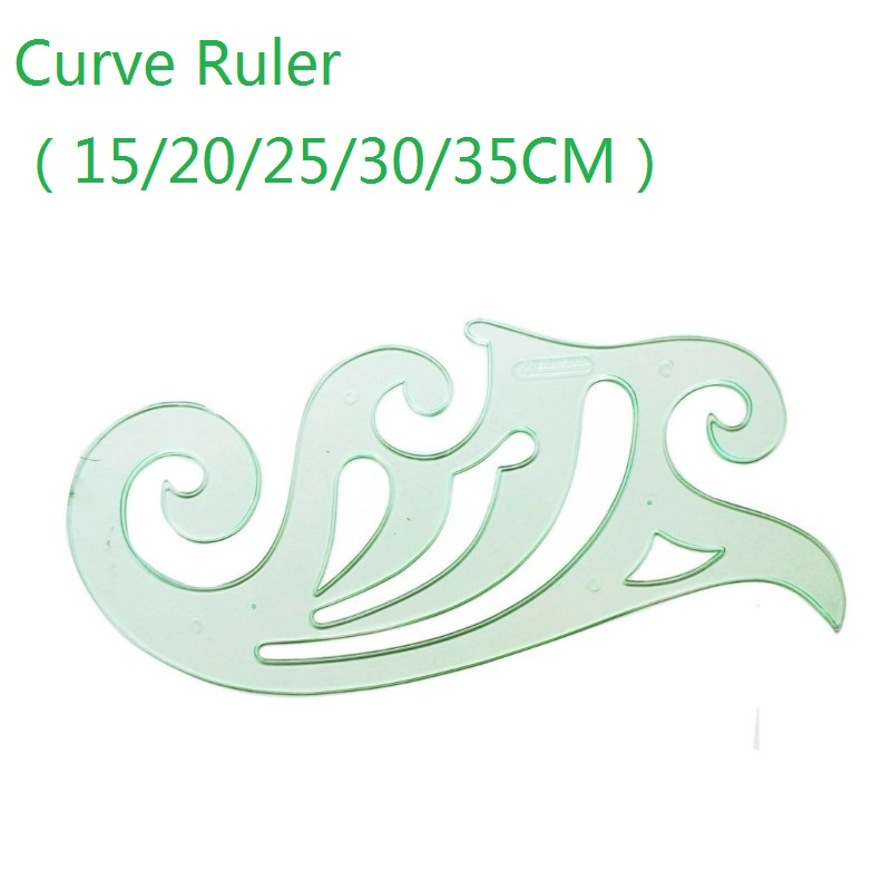 Curve Ruler Board 15/20/25/30/35cm For Cartoon Animation Design Interior Design