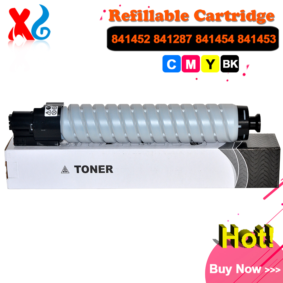 CMYK Japan Toner Powder for Ricoh Aficio MPC4000 MPC5000 MPC4501 MPC5501 MP C4501 C5501 C4000 C5000 Toner Cartridge Copier Parts toner cartridge for ricoh aficio mp c2800 c3300 c2800spf c3300spf copier for ricoh mpc2800 mpc3300 mpc 2800 3300 toner cartridge