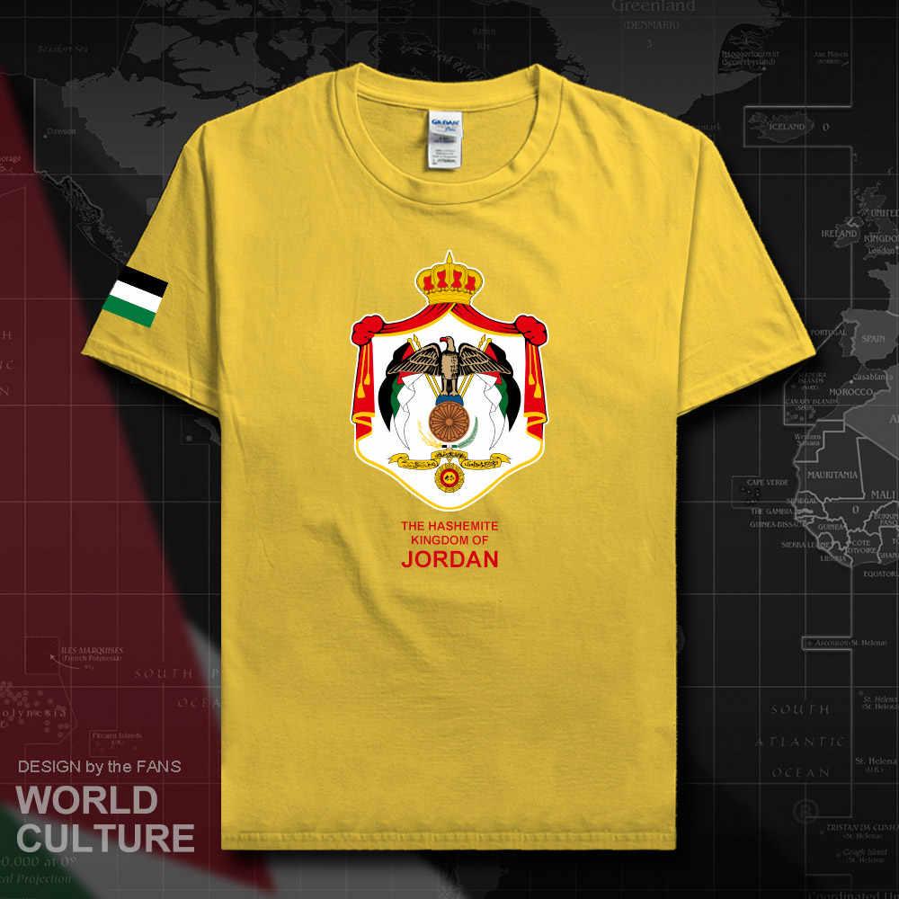 Jordan Jordanian men t shirt 2018 jersey nation tshirt 100% cotton t-shirt clothing tees country sporting JOR Arabic Arab new 20