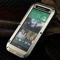 M8 любовь мэй водонепроницаемый чехол для HTC One M8 чехол Dropproof алюминиевый чехол для HTC M8 мощный ударопрочный чехол