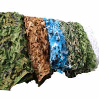 1.5x3M Oxford Camouflage Mesh Netting Military Shade Net Camping Hunting Shade Sails Woodland Hide Cover Sun Shelter Beach Tent
