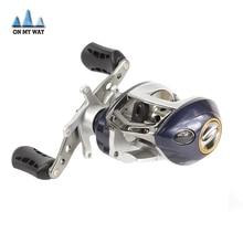 NUEVA marca carrete de baitcasting 6 + 1 rodamientos de bolas de la carpa artes de pesca Left Right Hand bastidor de cebo carrete de la pesca