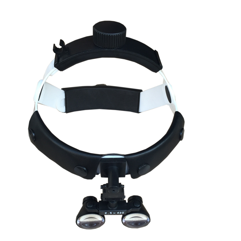 2.5X Dental Loupes Helmet Style Surgical Magnifying Glasses For Microsurgery Dentistry Galileo Medical Binocular Magnifier