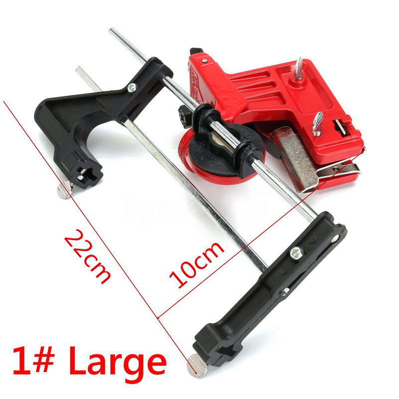 Universal Chainsaw Chain File & Guide Sharpener Grinding Guide Garden Lawn Mower Chainsaw Sharpner Grinding Guide Tools free shipping roller skates frame rocker frame banana frame with wheels 231 mm and 243 mm