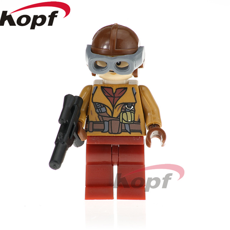 Model Building Well-Educated 50pcs Star Wars Han Solo Luke Skywalker Rebel Pilots Sabine Wren Yoda Special Offer Clone Figure Building Block For Children Toy Toys & Hobbies
