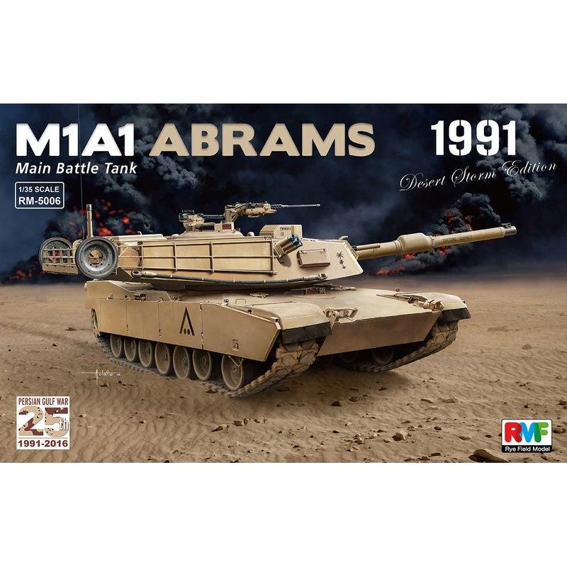 "Centeno modelo de campo RFM RM 5006 1/35 M1A1 Abrams MBT 1991 ""Tormenta del Desierto"" Edición escala modelo Kit-in Kits de construcción de maquetas from Juguetes y pasatiempos on AliExpress - 11.11_Double 11_Singles' Day 1"