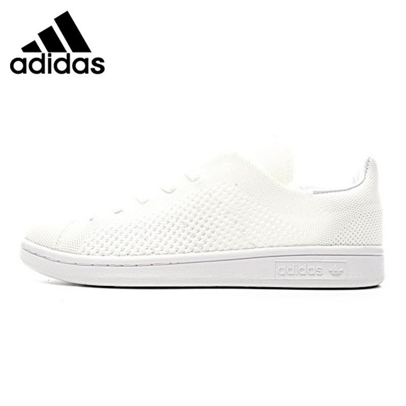 Adidas Stan Smith PK Men Walking Shoes , White /Black, Breathable Wear-resistant Lightweight Non-slip BB3786 S80065 adidas stan smith shamrock men s and women s walking shoes pink grey balance lightweight breathable s75075 s80024