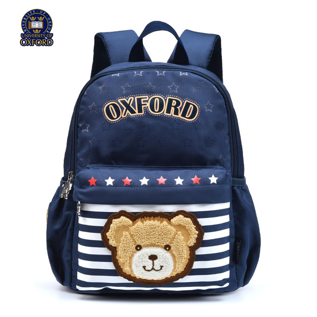 University Of Oxford Children Kids Light Books Backpack Nursery School Bag Portfolio Rucksack For Boys