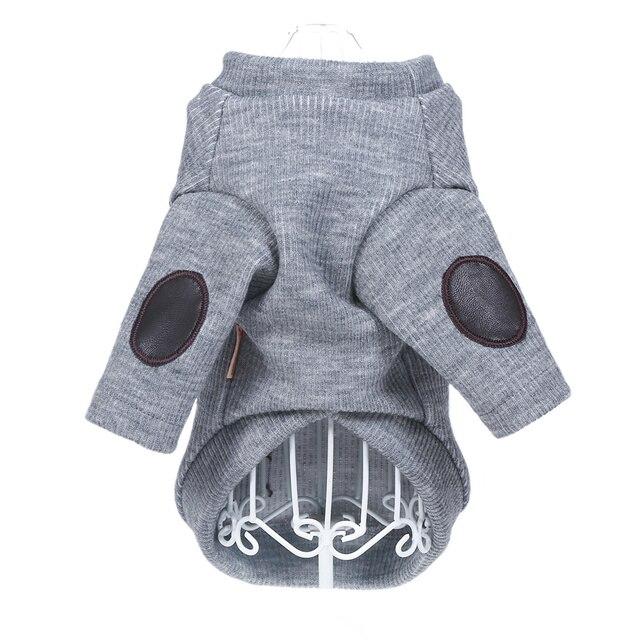 Modern Pet Coat in Grey or Beige 3