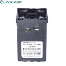 Wouxun AA Battery Case for Wouxun KG UVD1P KG UV6D KG 659 KG 669 Plus KG 679 KG 689 Plus 2 Way Radio Walkie Talkie Ham Radio