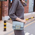 2016 Small Autumn Flap Bag Casual Square Buckle Shoulder Bag New Women Messenger Bag Luxury Brand Crossbody Bags