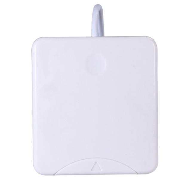 Leitor de Cartão USB 480 Mbps Chip Inteligente Com Contato para Os Leitores de Cartão IC, SIM, Smart Card, EMV Banco Cartão de Crédito Branco