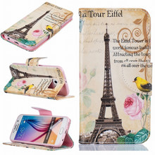 Luxury Case For Samsung Galaxy S5 S6 S7 Edge j3 j5 j7 A5 A3 j1 2016 Wallet Stand PU Leather Wallet Stand Card Pocket Cover P07Z цена