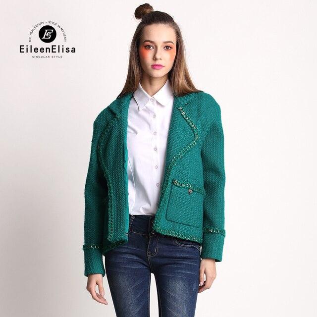 fecde080d05d7 Piste Manteau Femme Automne Veste Femmes 2017 Marque De Luxe À Manches  Longues Dames Tweed Vestes
